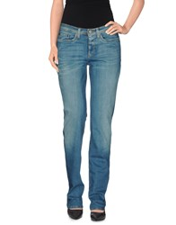 Neil Barrett Denim Denim Trousers Women Blue
