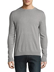 Zadig And Voltaire Gino Crewneck Heathered Pullover Grey