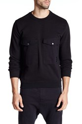 Religion Guard Crew Sweater Black