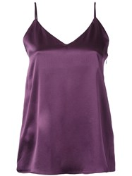 H Beauty And Youth Plain Cami Top Pink Purple