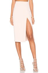 L'agence Yvonne Pencil Skirt Blush