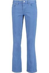 Tory Burch Magda Mid Rise Bootcut Jeans