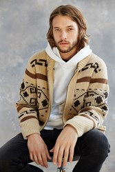 Pendleton Original Westerly Zip Cardigan Tan