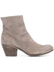 Officine Creative Giselle Boots Grey