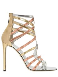 Tamara Mellon 105Mm Goddess Leather Cage Sandals