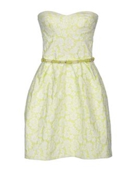 X's Milano Short Dresses Acid Green
