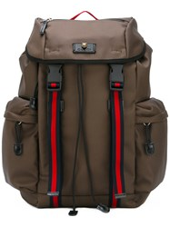 Gucci Techno Backpack Green