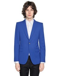 Alexander Mcqueen Super 120'S Wool Jacket