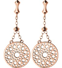 Links Of London Timeless 18Ct Rose Gold Vermeil Earrings