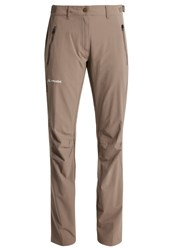 Vaude Farley Trousers Coconut Brown