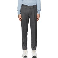 Tiger Of Sweden Grey Wool Trousers