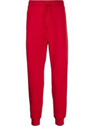 Y 3 Classic Track Pants Red