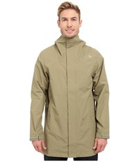 The North Face El Misti Trench Coat Mountain Moss Men's Coat Brown