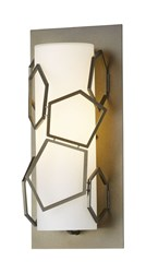 Hubbardton Forge Umbra Outdoor Wall Light Silver