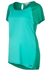 Esprit Maternity Tunic Roulette Green Turquoise
