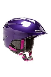 Scott Sports Unisex Tracker Helmet Purple