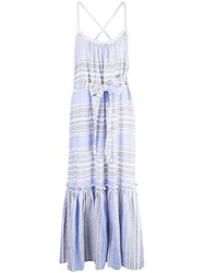 Lemlem Amira Sundress Blue