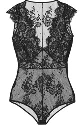 I.D. Sarrieri La Robe Noire Chantilly Lace Bodysuit Black