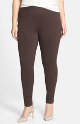 Plus Size Women's Two By Vince Camuto Leggings Espresso