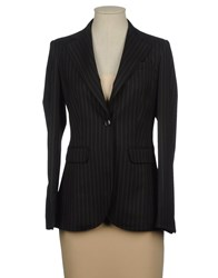 Trou Aux Biches Suits And Jackets Blazers Women Dark Blue