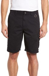 Cova Men's Catch And Release Regular Fit Hybrid Cargo Shorts Charcoal
