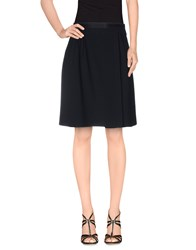Miu Miu Skirts Knee Length Skirts Women Dark Blue