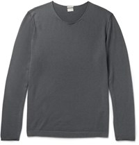 Massimo Alba Cashmere Sweater Gray