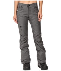 686 Authentic Patron Insulated Pants Steel Melange Women's Casual Pants Gray