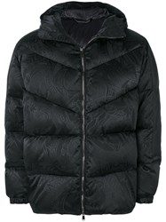 Versace Medusa Padded Coat Feather Down Polyamide Polyester Black