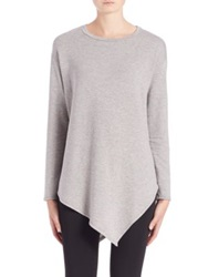 Soft Joie Tammy Asymmetrical Tee Heather Grey