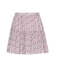 Saint Laurent Floral Print Miniskirt Multicoloured
