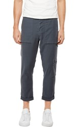 J Brand 'S Koeficient Relaxed Fit Cargo Crop Pants Dull Bentonite