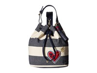 Tommy Hilfiger Summer Of Love Sling Backpack Navy Natural Backpack Bags