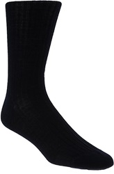 Ribbed Over The Calf Dress Sock
