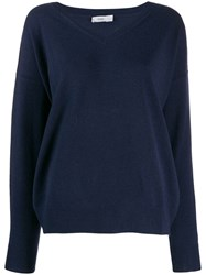 Closed Knitted V Neck Sweatshirt 568