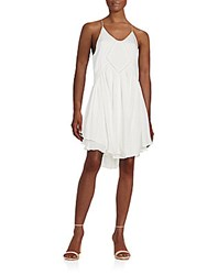 Romeo And Juliet Couture Ladder Stitch Tiered Dress Ivory