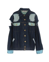 Natasha Zinko Denim Outerwear Blue