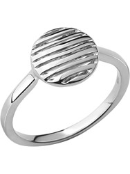 Links Of London Thames Sterling Silver Ring Silver