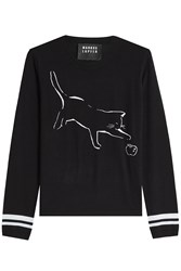Markus Lupfer Cat And Apple Merino Wool Pullover