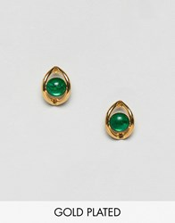 Gogo Philip Philipp Poison Ivy Stud Earrings Gold