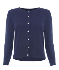 Nougat London Cropped Cardigan Midnight