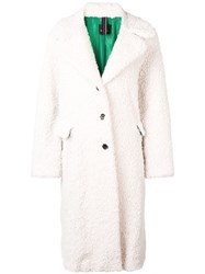 Paul Smith Ps By Classic Single Breasted Coat White