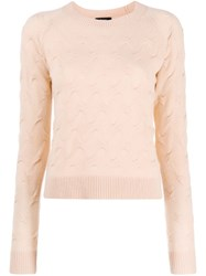 Theory Dart Knit Sweater Neutrals
