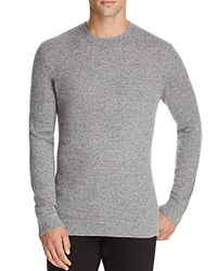 Theory Donners Cashmere Sweater Grey Multi