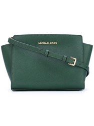 Michael Michael Kors Medium 'Selma' Crossbody Bag Green