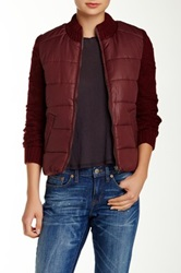 Billabong Chill Vibes Quilted Jacket Purple