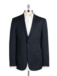 William Rast Two Button Jacket Navy