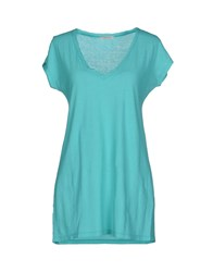 Devotion Topwear T Shirts Women Light Green