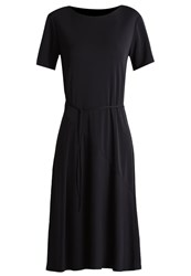 Filippa K Biascut Jersey Dress Black