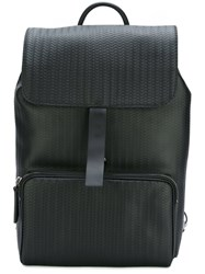 Zanellato Buckled Backpack Black